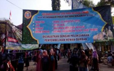 Kegiatan Idul Adha 1439 H di SMKS Abdi Negara Tuban