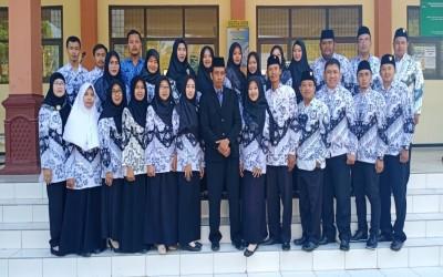 Upacara Detik - Detik Proklamasi 17 Agustus SMK Abdi Negara Tuban